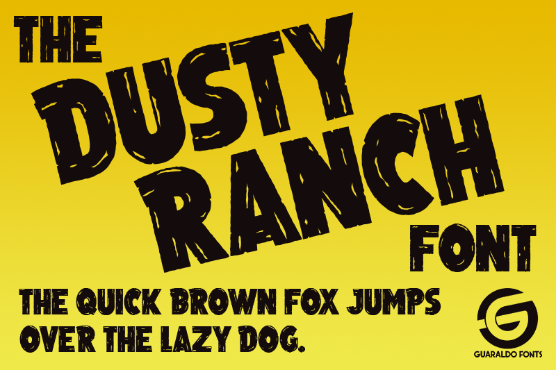 Dusty Ranch Font