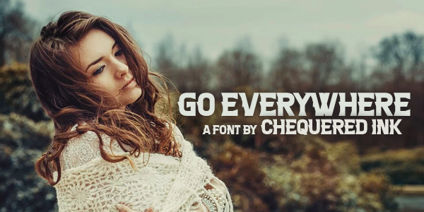 Go everywhere Font