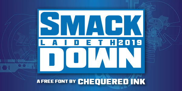 Smack Laideth Down Font