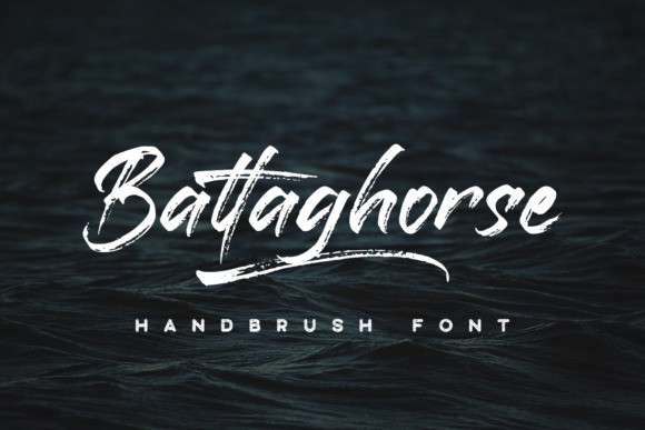 Battaghorse Brush Font