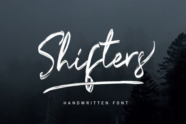 Shifters Font