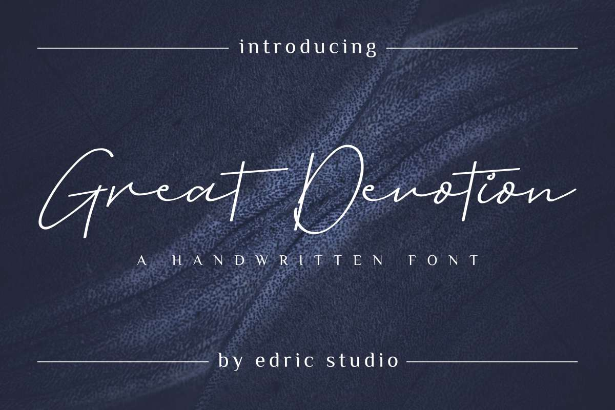 Great Devotion Font