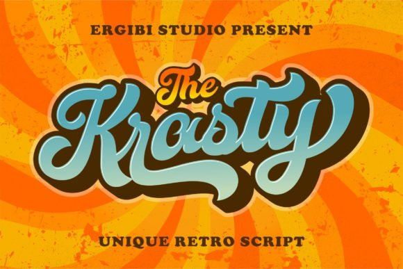 Krasty Display Font