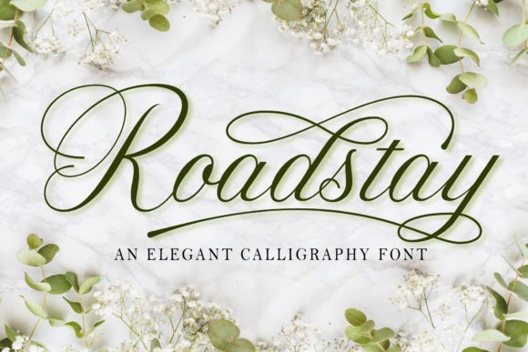 Roadstay Calligraphy Font
